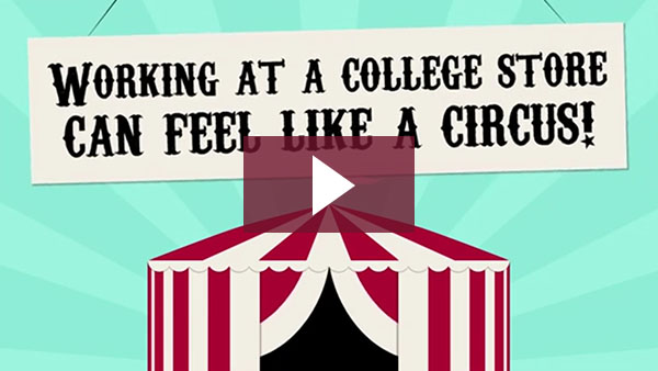 Working at a College Store Can Feel Like a Circus